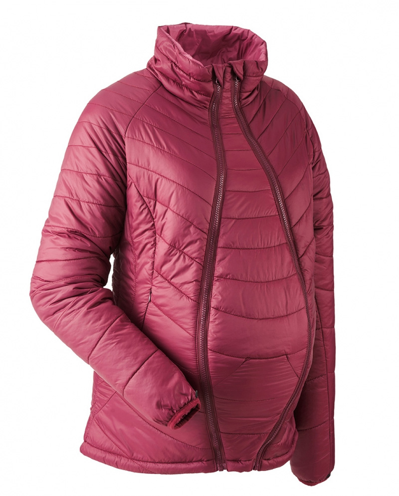 c0ae6cd4f6ee Babywearing quilted jacket super light - marsala colour