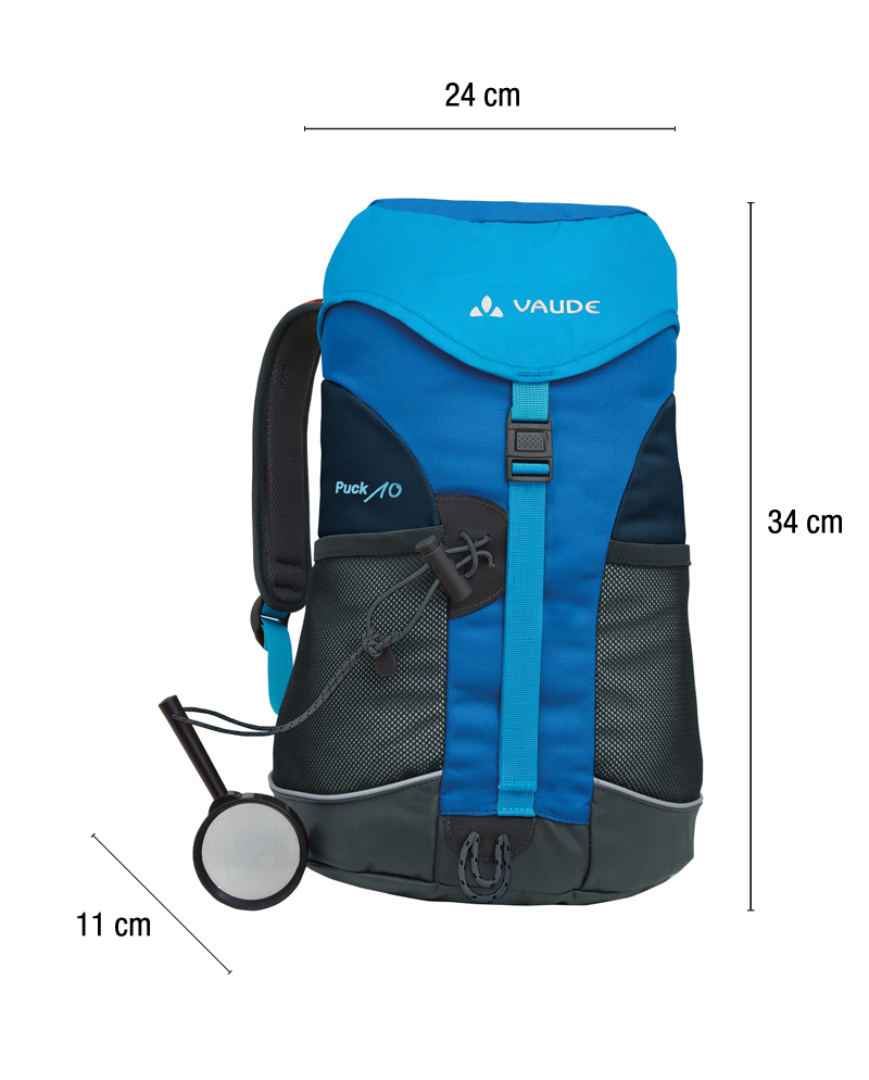 Vaude Puck 10L Blue backpack - Always with kids 1a950df9f990b