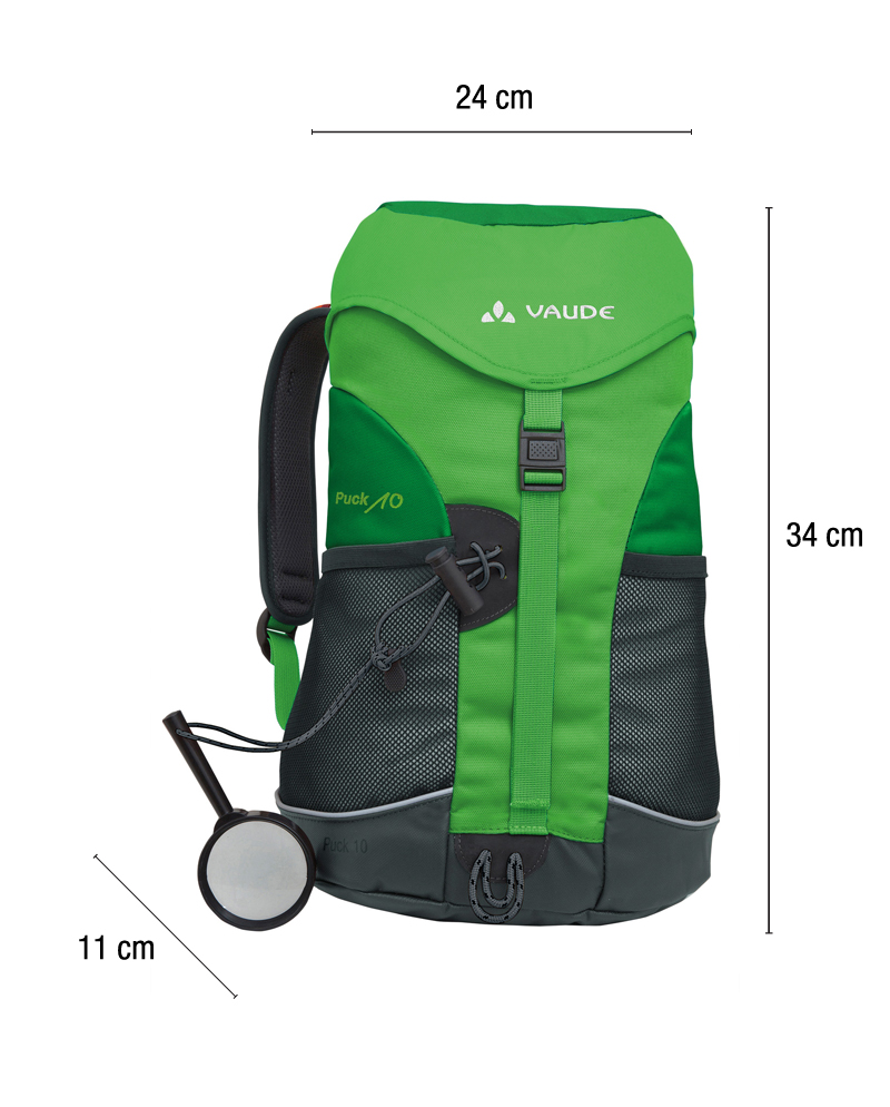 Vaude Puck 10L Green backpack - Always with kids 95310f273fb04